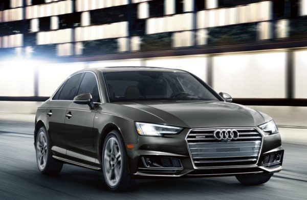 Black 2017 Audi A4