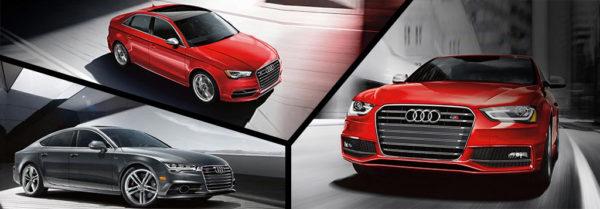compilation image of Audi S models