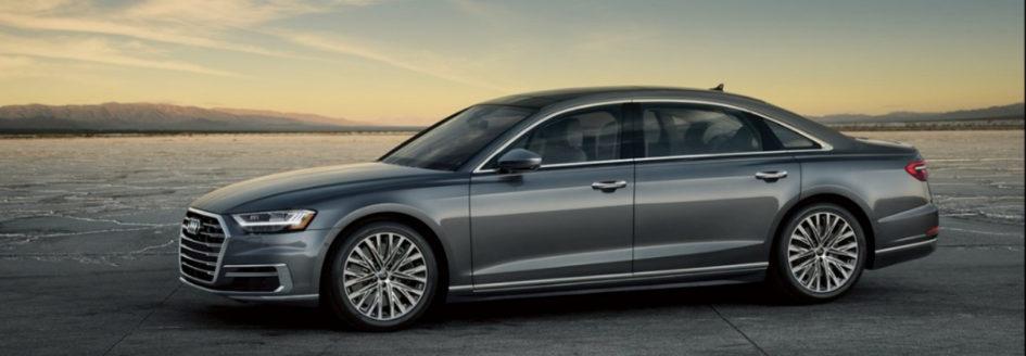 promotional image of 2019 Audi A8 sedan